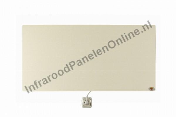 Infrarood wandverwarming Keramiek-gepolijst, 750x500x10 mm, 410 Watt