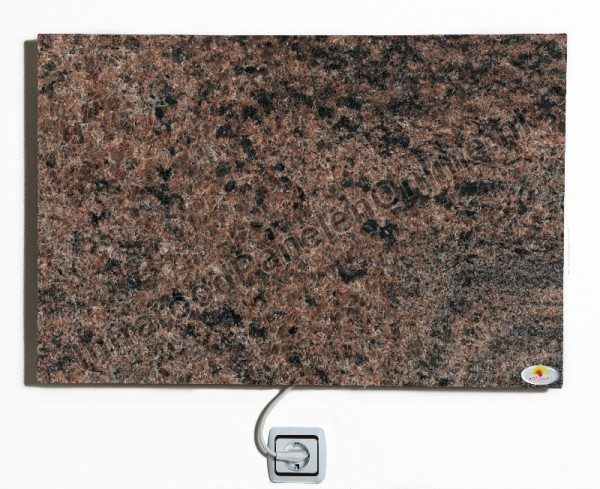 Infrarood paneel Graniet Multicolor Red, 750x500x13 mm, 410 Watt