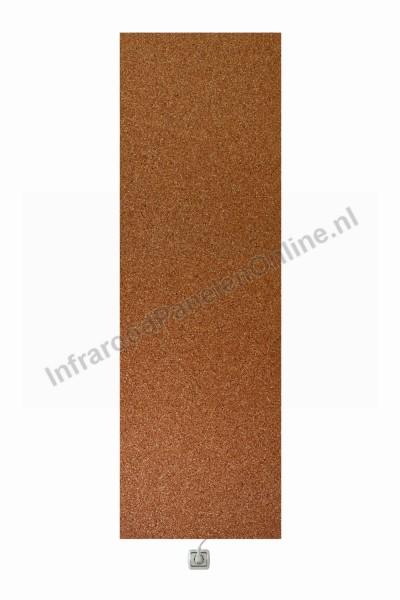 Infrarood wandverwarming voor onder stucwerk-Marmer-kiezel Rosso Verona, 2100×700x10 mm