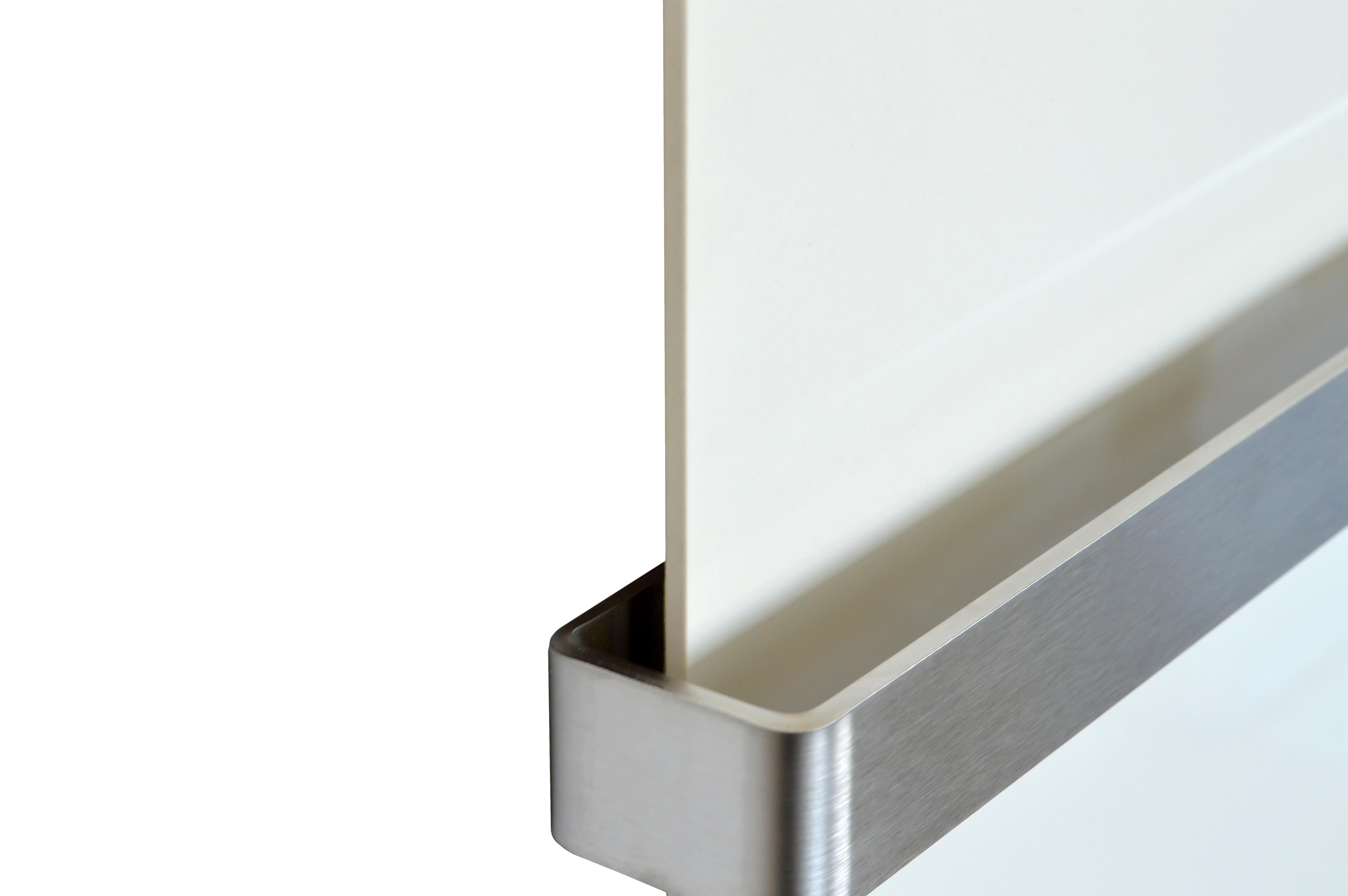 Keramische Verwarming Badkamer : Infrarood keramiek badkamer verwarming met handdoekbeugel crème wit