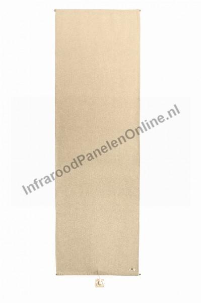 Infrarood wandverwarming voor op stucwerk-Natuurlijk hennep-katoen Natuur, 2000x650x5 mm