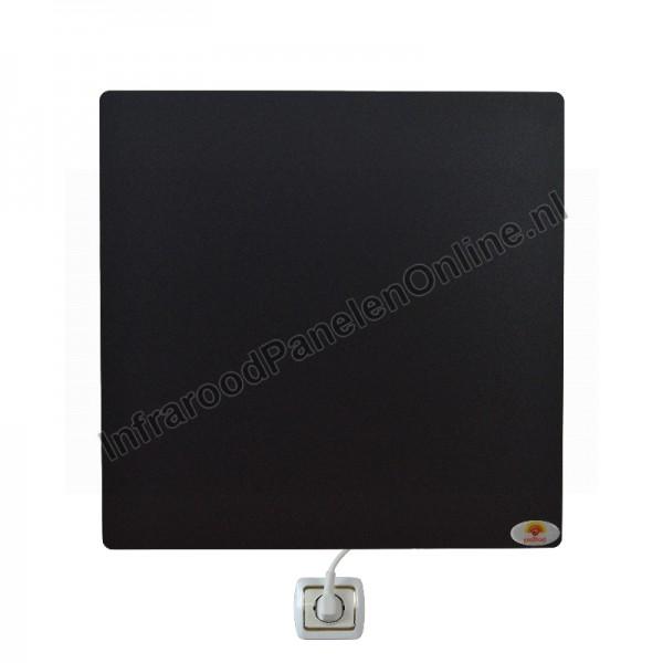 Infrarood wandverwarming Keramiek-mat, 500x500x8 mm, 250 Watt