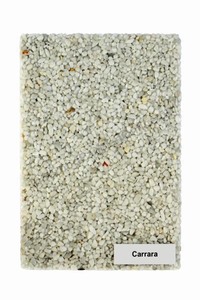 Infrarood wandverwarming voor onder stucwerk- Marmer-kiezel Carrara wit, 2100×700x10 mm