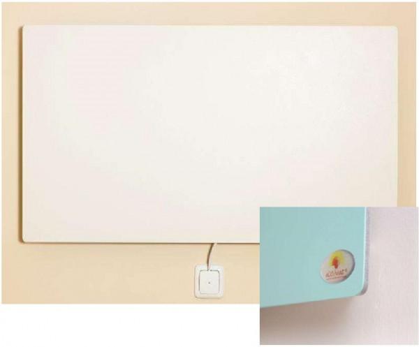 Infrarood wandverwarming GFK (glasvezel versterkte kunststof), 1000x500x6 mm
