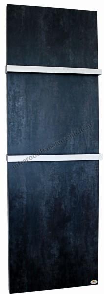 Infrarood Keramiek badkamer verwarming met handdoekbeugel Darknight, 2000x640x10 mm, 630 Watt