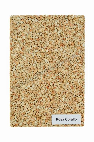 Infrarood wandverwarming voor onder stucwerk-Marmer-kiezel Rosa Corallo, 2100×700x10 mm