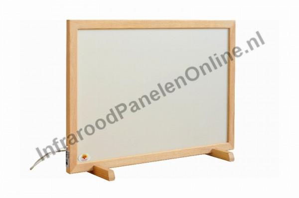Infrarood Keramiek-staande panelen met houten lijst, 860x560x30 mm, 410 Watt